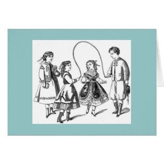 Vintage Kinderen bij Spel Briefkaarten 0