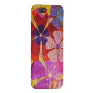 vintage kleurrijk bloemen vectorart. iPhone 5 hoesjes