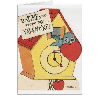 Vintage Koekoek Valentijn Briefkaarten 0