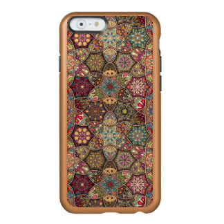 Vintage lapwerk met bloemenmandalaelementen incipio feather® shine iPhone 6 hoesje