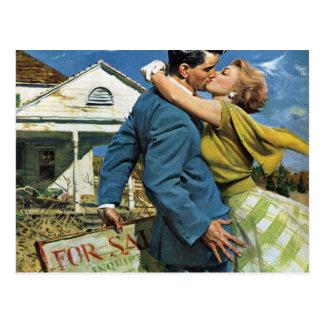 Vintage Liefde en Romance, Adreswijziging Briefkaart