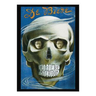 Vintage Magisch Poster DE Biere Geheimzinnig