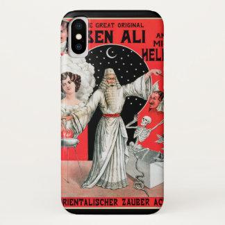 Vintage Magisch Poster, Grote Originele Ben Ali iPhone X Hoesje