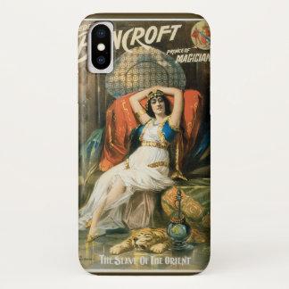 Vintage Magisch Poster, Tovenaar Frederick iPhone X Hoesje