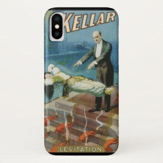 Vintage Magisch Poster, Tovenaar Harry Kellar iPhone X Hoesje