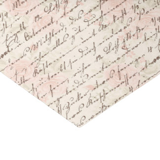 Vintage Manuscript Tissuepapier