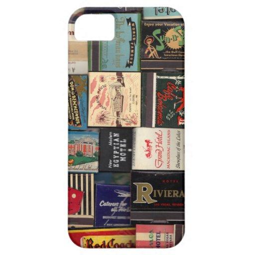 Vintage Matchbooks iPhone 5 Case