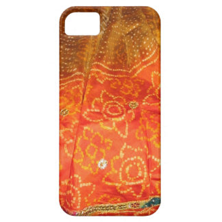 Vintage Mode: Het Goud van de Druk van Jaipur met Barely There iPhone 5 Hoesje