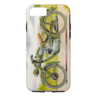 Vintage Motorfiets iPhone 8/7 Hoesje