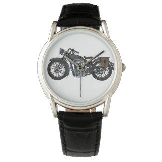 Vintage motorfietshorloge polshorloge
