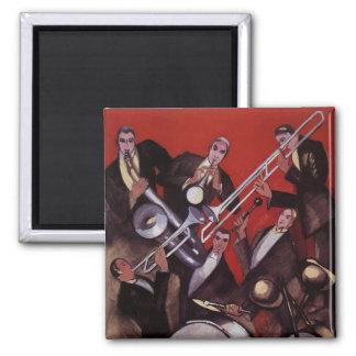 Vintage Muziek, Blokkeren van de Band van de Jazz Magneet