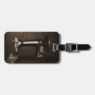 Vintage Naaimachine Kofferlabel