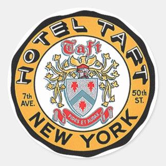 Vintage NY van de Stickers NYC van de Bagage van
