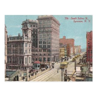 Vintage NY van Syracuse Briefkaart
