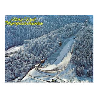Vintage Oostenrijk, Berg Isel, Olympische Briefkaart