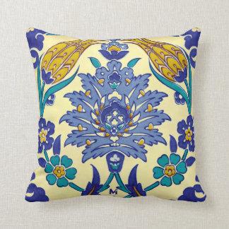 Vintage Ornament van de Stijl van Azulejo van het Sierkussen