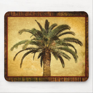 Vintage Palm - Tropische Aangepaste Sjabloon Muismat
