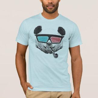 Vintage panda 3-D glazen T Shirt