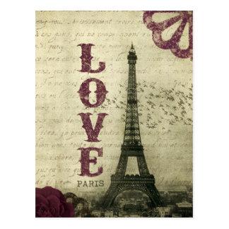 Vintage Parijs Briefkaart