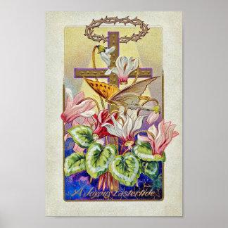 Vintage Pasen Poster