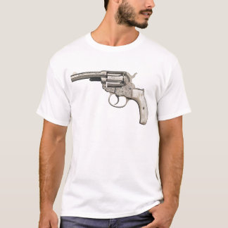 Vintage Pistool T Shirt