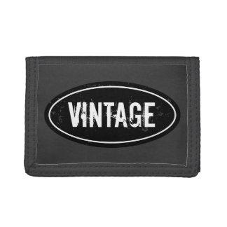 Vintage portefeuille voor man | Personaliseerbare