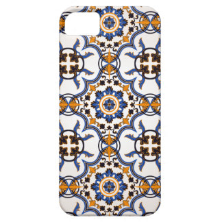 Vintage Portugees Blauw Geel Patroon Azulejo Barely There iPhone 5 Hoesje