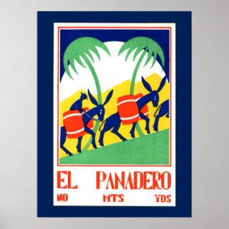 Vintage Poster - Gr Panadero