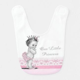 Vintage Prinses Baby Slabbetje