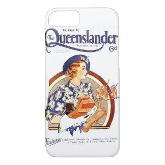 Vintage Queenslander iPhone 7 Hoesje