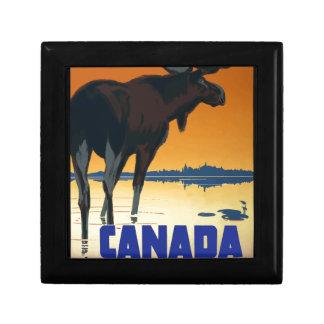 Vintage Reis Canada Decoratiedoosje