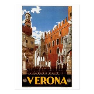 Vintage reis Italië, Verona - Briefkaart