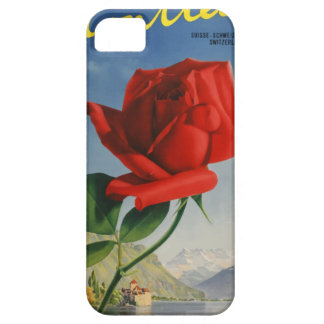 Vintage Reis Montreux Zwitserland Barely There iPhone 5 Hoesje