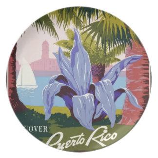 Vintage Reis Puerto Rico Bord