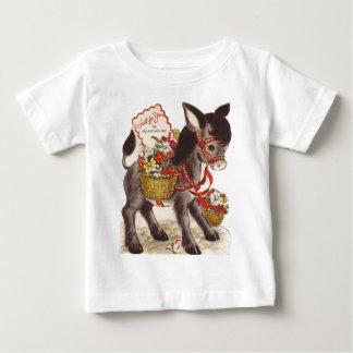 Vintage Retro Snoepje Weinig Valentijnsdag van de Baby T Shirts