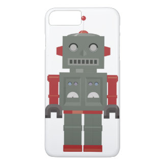 Vintage Robot iPhone 8/7 Plus Hoesje