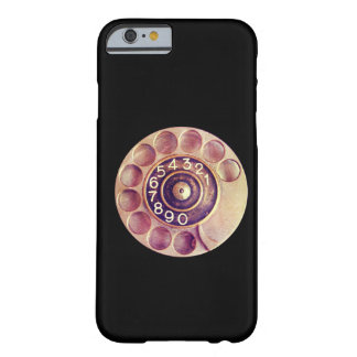 Vintage roterende telefoon barely there iPhone 6 hoesje
