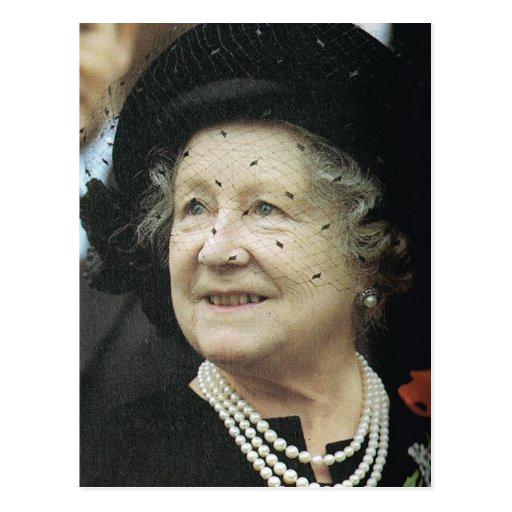 Vintage Royalty, Koningin-moeder Wenskaart