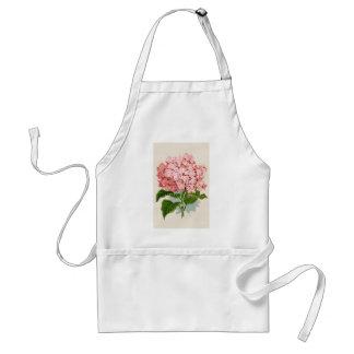 Vintage Roze Hydrangea hortensia Standaard Schort