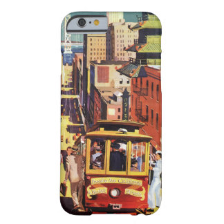 Vintage San Francisco Barely There iPhone 6 Hoesje