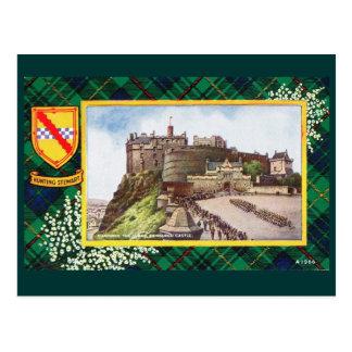Vintage Schotland, Jagende Stewart Edinburgh Briefkaart
