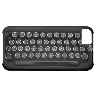 Vintage Schrijfmachine iPhone 5C Hoesje