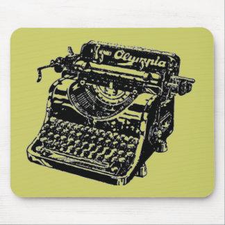 Vintage Schrijfmachine Muismat