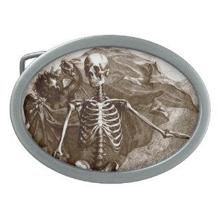 Vintage Skelet en Cherubijn Gesp