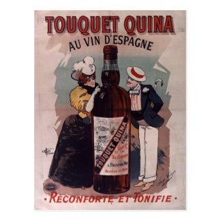 Vintage Spaans reclameposter: wijn Briefkaart