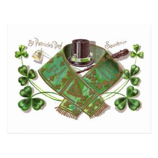 Vintage St Patrick van Shillelagh, van het Pet en Briefkaart