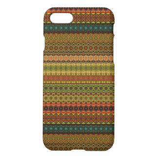 Vintage stammen Azteeks patroon iPhone 8/7 Hoesje