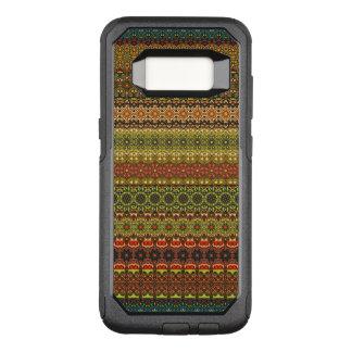 Vintage stammen Azteeks patroon OtterBox Commuter Samsung Galaxy S8 Hoesje