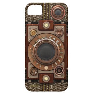 Vintage Steampunk Camera Luxe #1D (!) Barely There iPhone 5 Hoesje