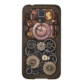 Vintage Steampunk Timepiece Redux Galaxy S5 Hoesje